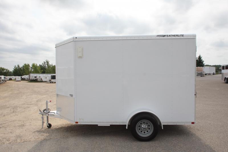 2012 Featherlite 1610 10 7 (H) Enclosed Cargo Trailer