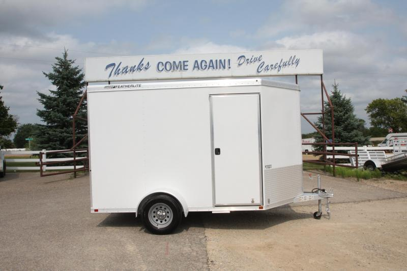 2012 Featherlite 1610 10 7 (H) Enclosed Cargo Trailer