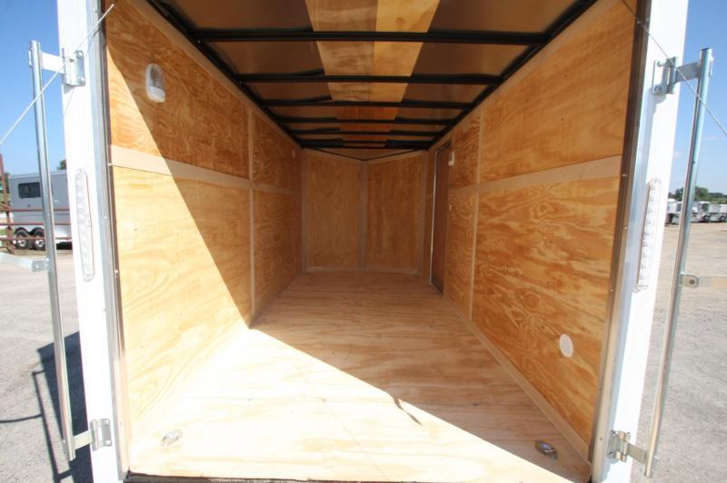 2017 American Hauler Industries NightHawk 7x14 Enclosed Cargo Trailer