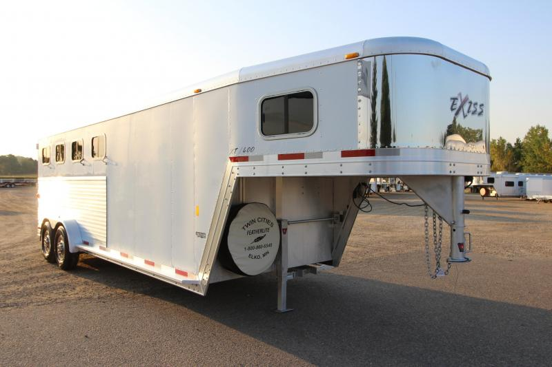 2006 Exiss Trailers 4HR GN Horse Trailer