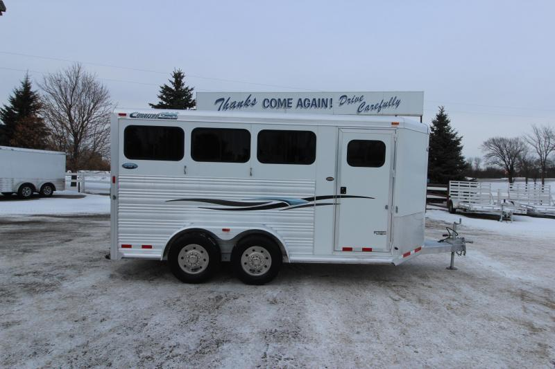 2010 Cimarron Trailers 3HR BP Horse Trailer