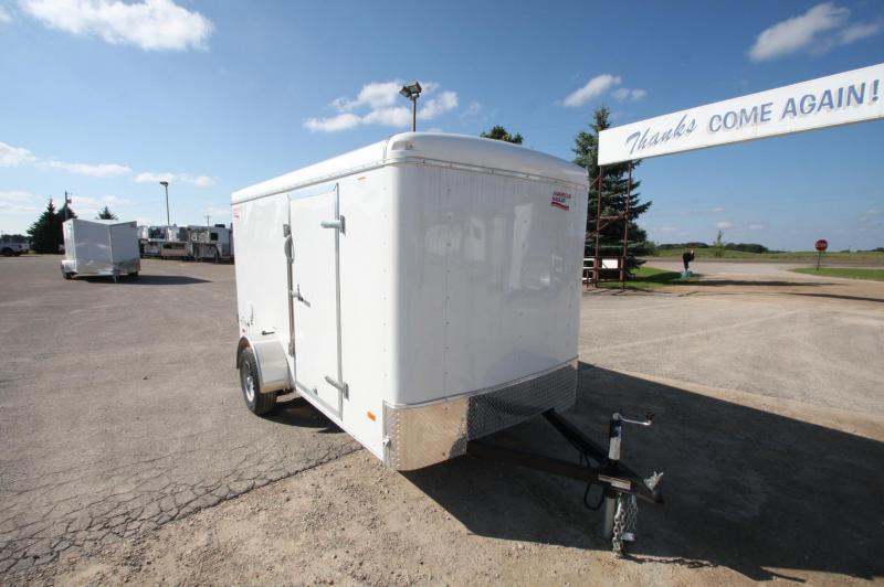 2017 American Hauler Industries AirLite 6x12 Enclosed Cargo Trailer