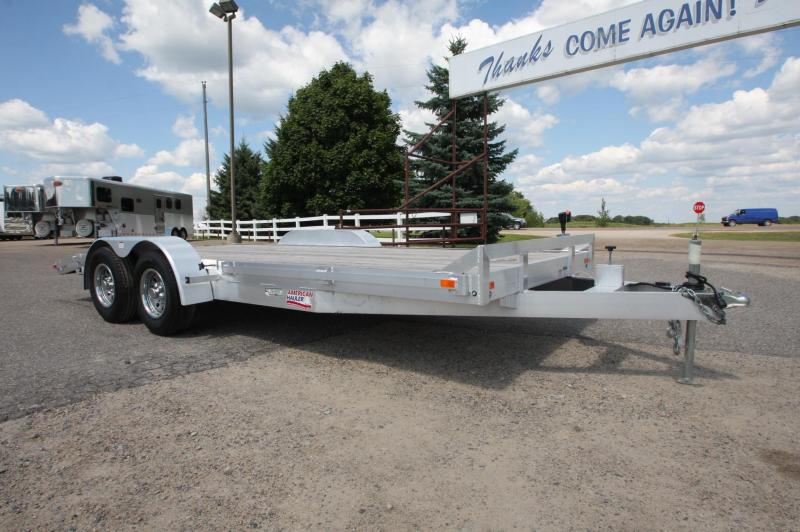 2017 American Hauler Industries 8x18 Car / Racing Trailer
