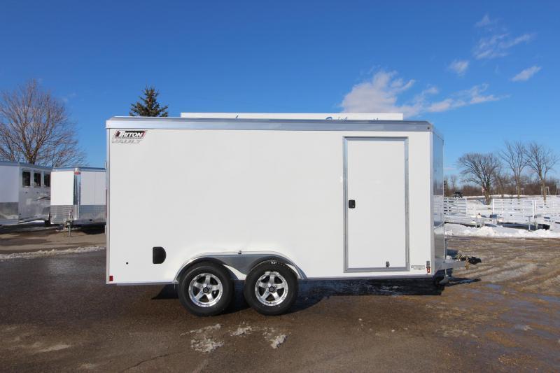 2019 Triton 7x14 66 H Enclosed Cargo Trailer