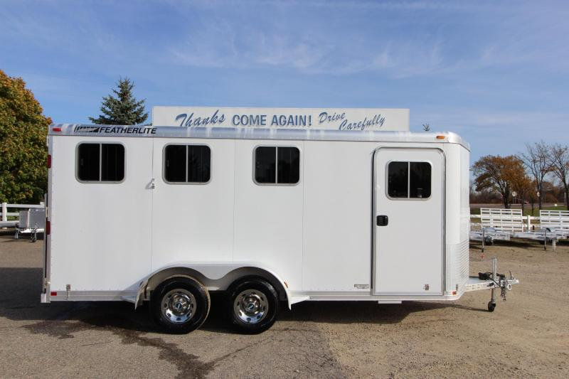 2008 Featherlite 3HR BP Horse Trailer