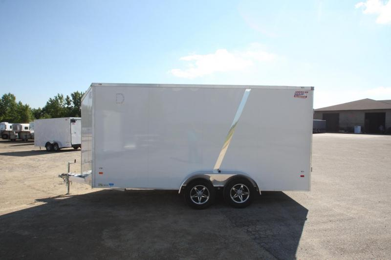 2017 American Hauler Industries NightHawk Aluminum 7x14 Enclosed Cargo Trailer