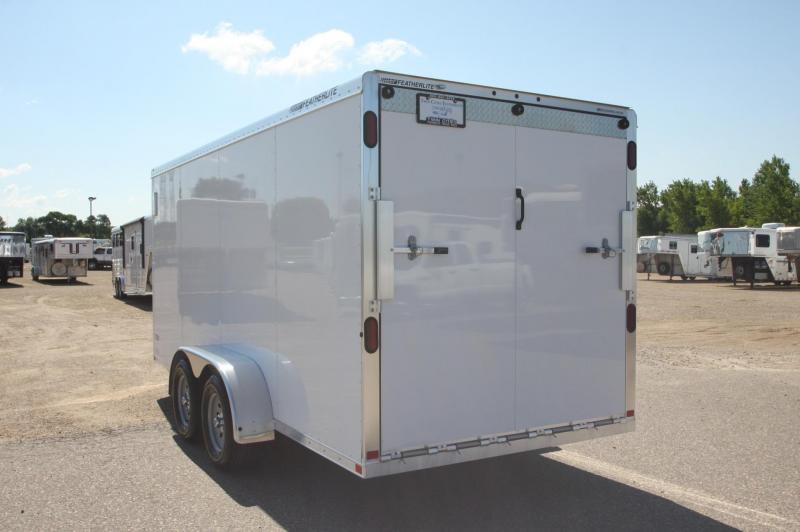 2018 Featherlite 1610 16 BP Enclosed Cargo Trailer