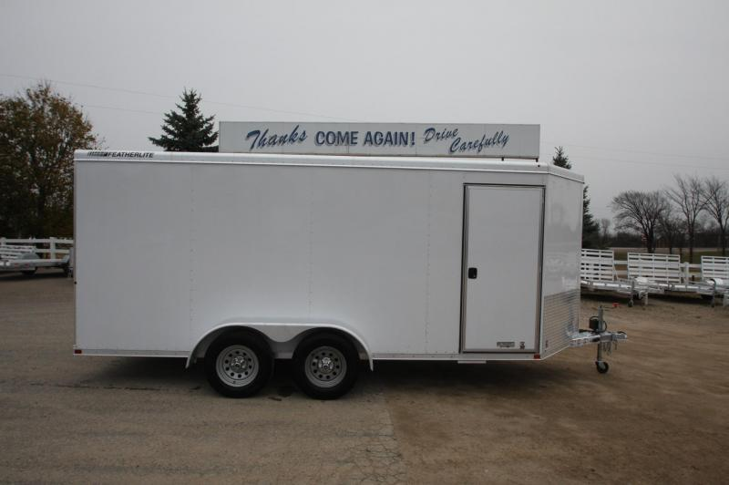 2015 Featherlite 1610 16' Utility Trailer