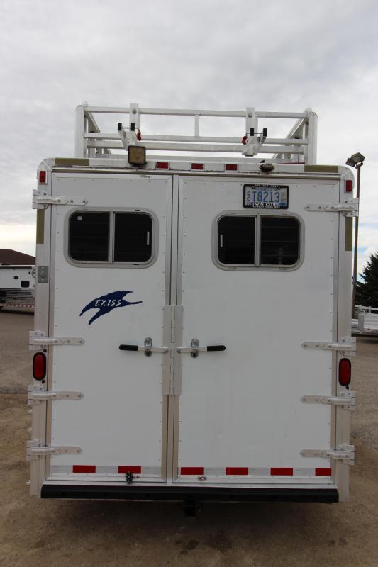 2000 Exiss Trailers 4HR 6 Weekender Horse Trailer