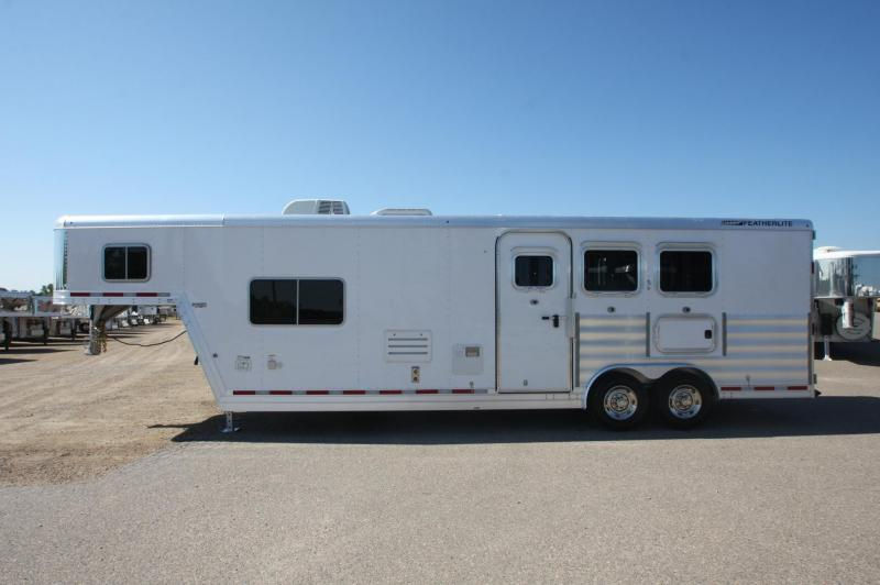 2015 Featherlite 8581 3HR 11.5 LQ Horse Trailer