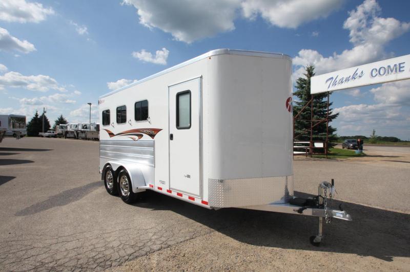 2015 Kiefer Built 3HR BP Horse Trailer