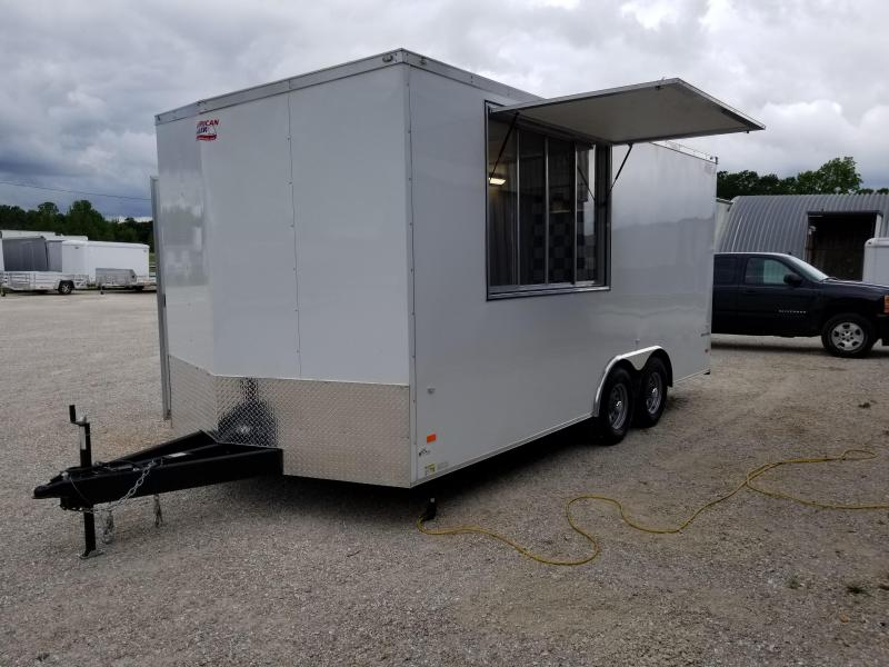 2017 American Hauler Industries NightHawk Vending / Concession Trailer