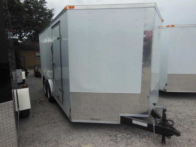 2018 Anvil 8 x 16 Enclosed Cargo Trailer