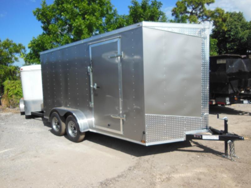 2017 Lark 7 x 14 TA Enclosed Cargo Trailer