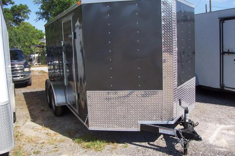 2017  Lark 7 x 14 Enclosed Cargo Trailer