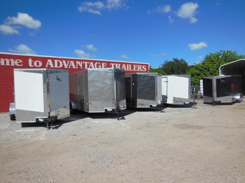 2017  Lark 7 x 14 Enclosed Cargo Trailer