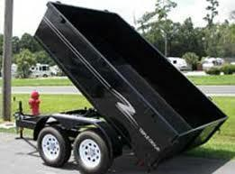 6 X 12 Lowrider Dump Trailer