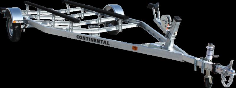 2017 Continental Trailers EW1515V GALVANIZED KEEL ROLLER Boat Trailer