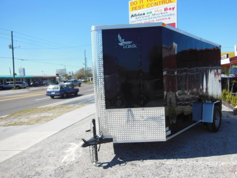 2017 Lark 6 x 12 SA Enclosed Cargo Trailer