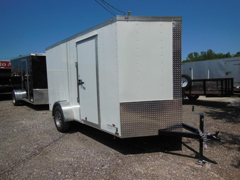 2017 Anvil 6 x 12 v-nose Enclosed Cargo Trailer