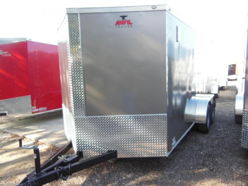 2017  Anvil 7 x 14 Enclosed Cargo Trailer