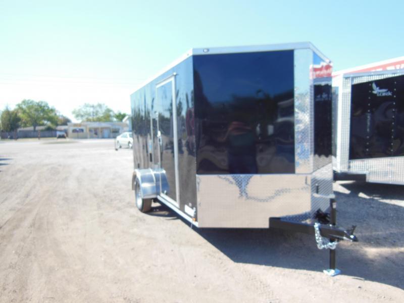 2017 Anvil 7 X 12 SA Enclosed Cargo Trailer