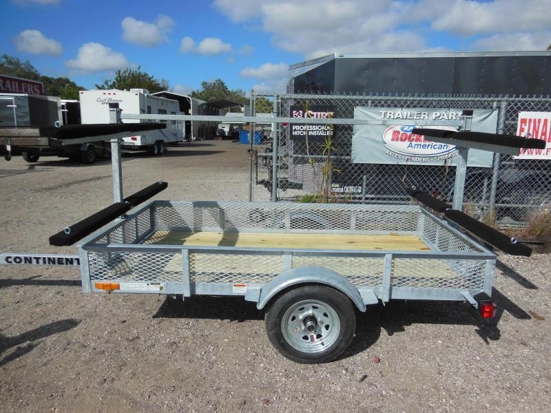 Continental Trailers Kt4815 Galvanized Kayak Watercraft