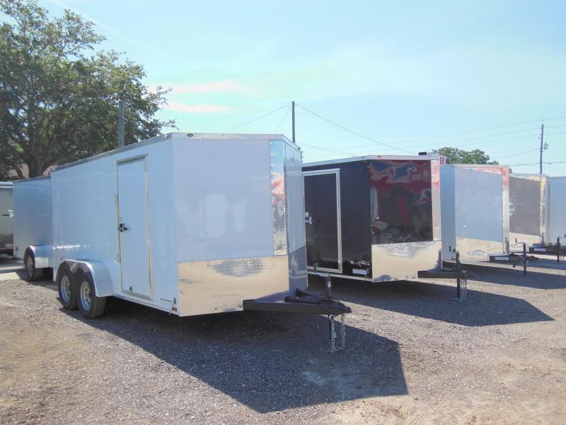 2017 Anvil 7 x 14 TA Enclosed Cargo Trailer