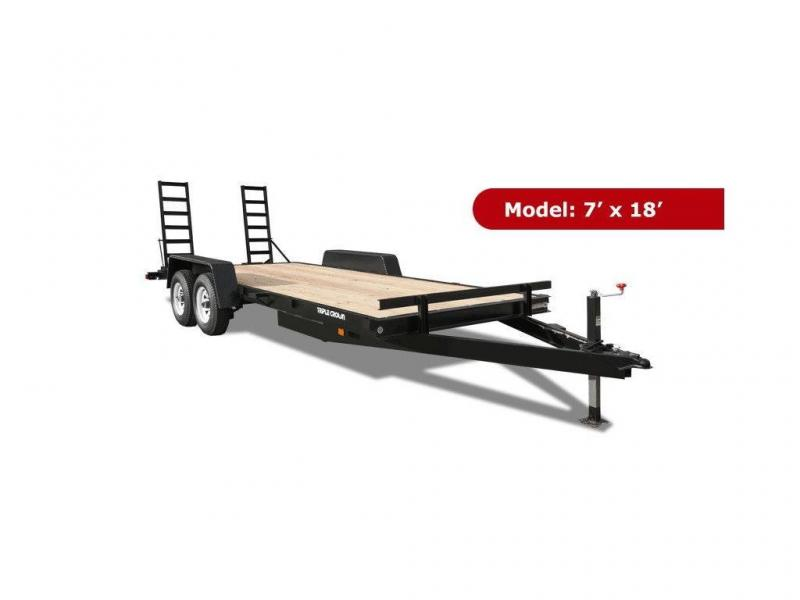 Channel Frame Equipment Trailers 3 Sizes Special Order
