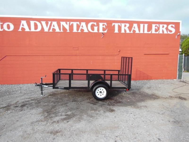 2017 Triple Crown  Open 5 x 10 Utility Trailer w/2' sides