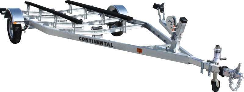 2017 Continental Trailers EW1620V GALVANIZED KEEL ROLLER Boat Trailer