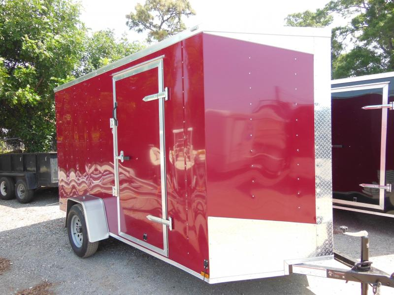2017 Lark 6X12 SA enclosed Enclosed Cargo Trailer