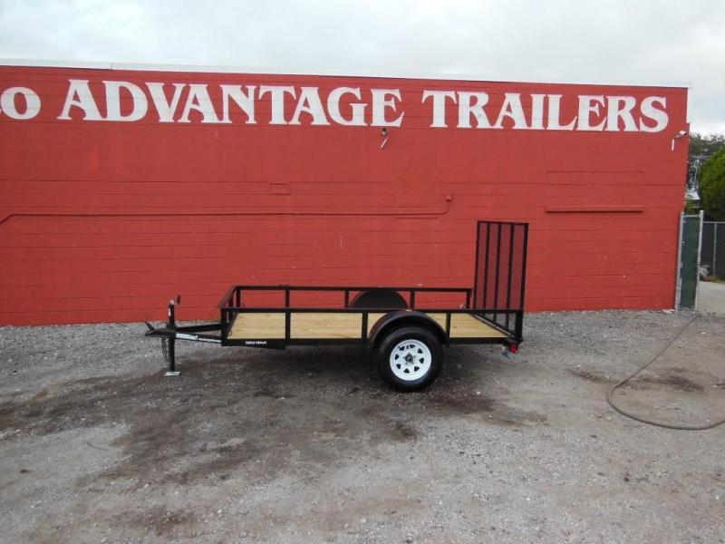 2017 Triple Crown Open 5 X 10 SA Utility Trailer