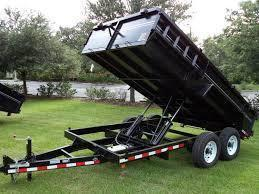 7 X 14 Heavy Duty Dual Ram Dump Trailer