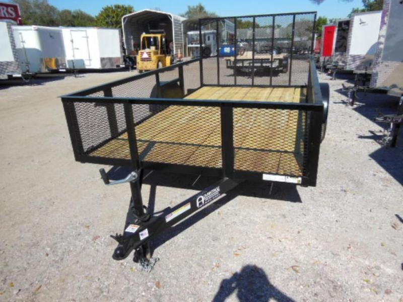 2016 Triple Crown Trailers Open 6X12- 2' mesh sides Utility Trailer