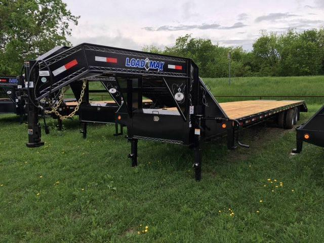 2018 Load Trail 102 x 40' 2-10k Elec Gooseneck Max Ramps