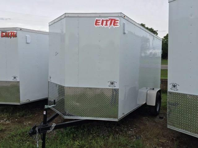 2019 Salvation Trailers 6 X 12 Sa Enclosed Barn Doors The Trailer