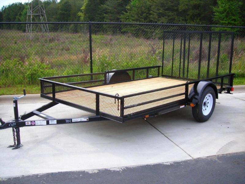 2017 Carry-On 7X12GWRS Utility Trailer
