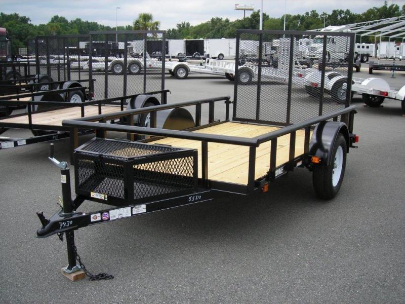 2017 Carry-On 5.5X10GWPT LED Utility Trailer