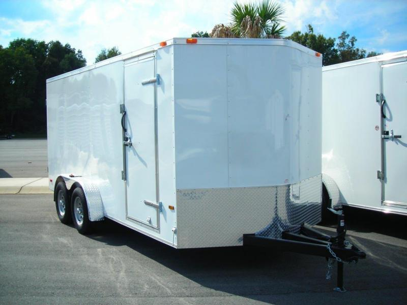 2017 Continental Cargo NS716TA2 Enclosed Cargo Trailer