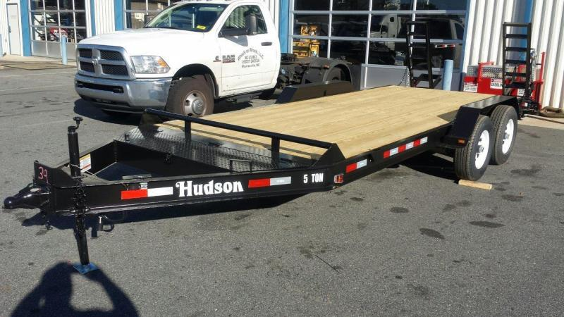 2017 Hudson Brothers HSE 18 Equipment Trailer