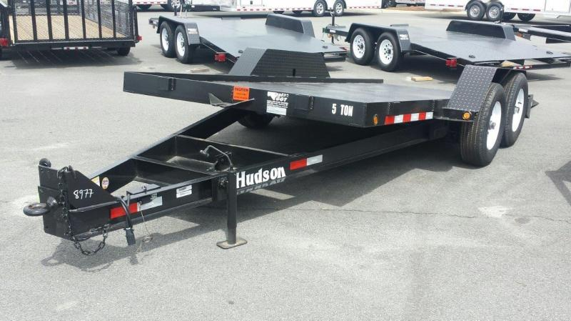 2017 Hudson Brothers HD14 Equipment Trailer