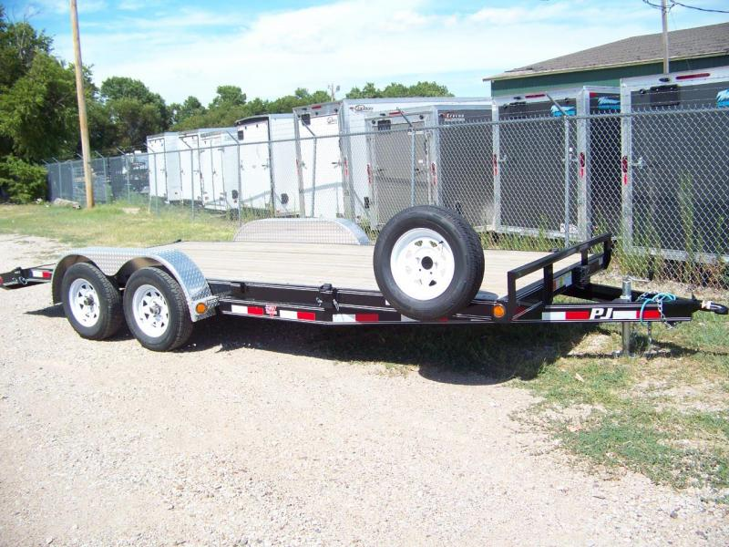 2018 PJ Trailers 5 in. Channel Open Carhauler