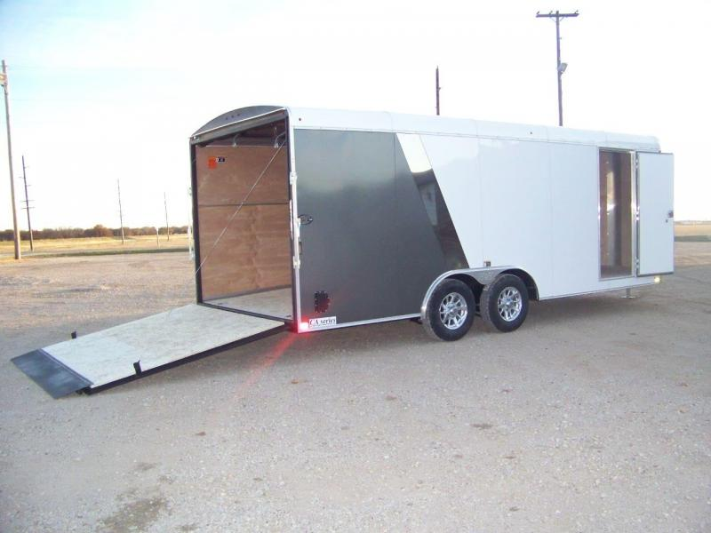 2018 H and H Trailer 101X20 Enclosed Car / Racing Trailer