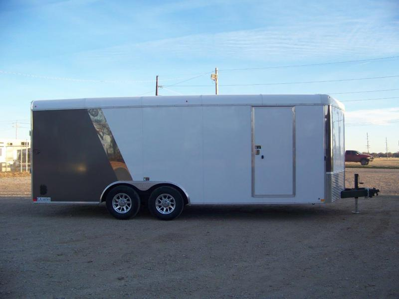 2018 H and H Trailer 101X20 Car / Racing Trailer