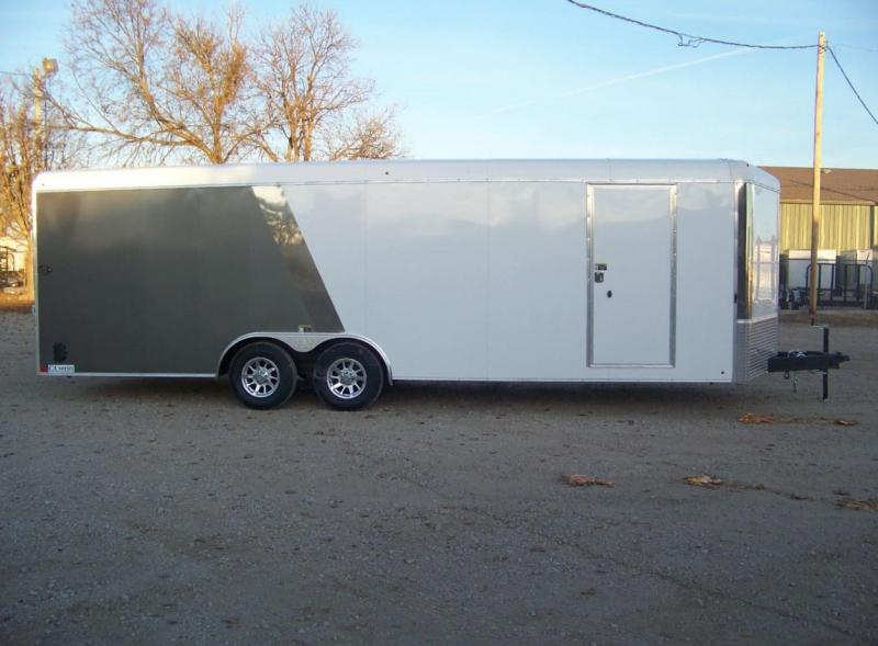 2018 H and H Trailer 101X24 Enclosed Car / Racing Trailer