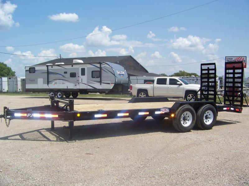 "2018 PJ Trailers 8"" Pro Beam Equipment Trailer"