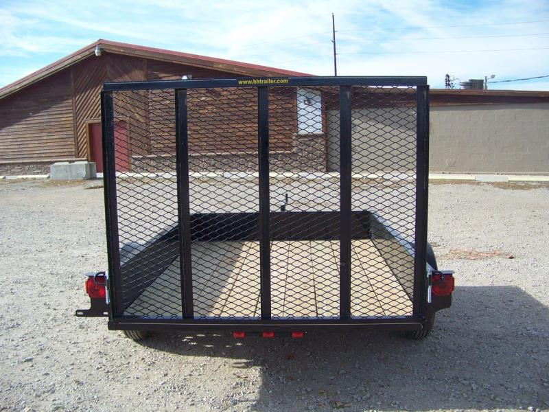 2018 H and H Trailer 6.5X8 Solid Side Utility Trailer