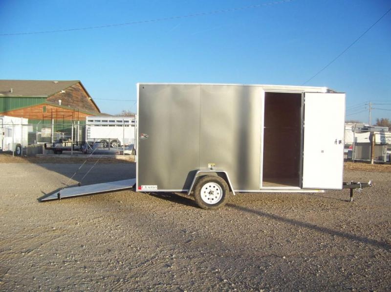 2018 H and H Trailer 6X12 Enclosed Cargo Trailer