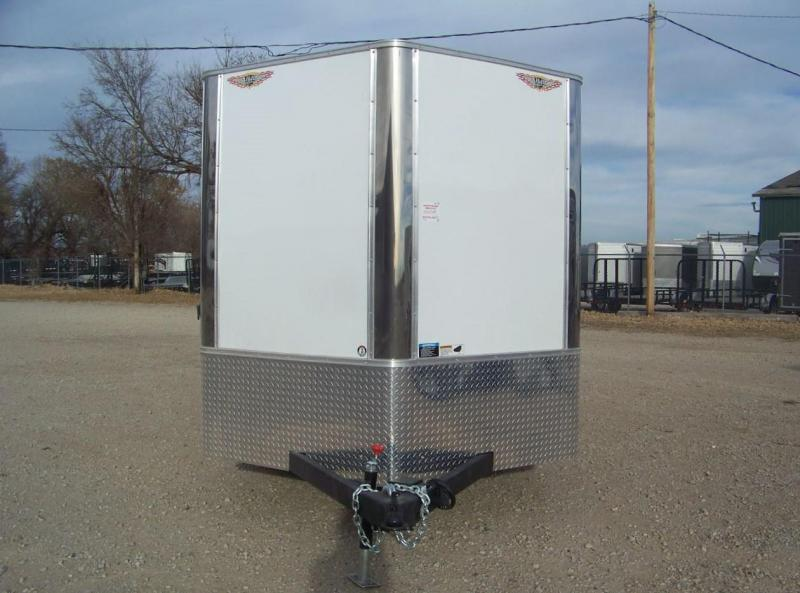 2018 H and H Trailer 7X16 Enclosed Cargo Trailer